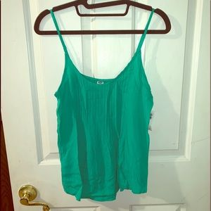 Old Navy green tank top